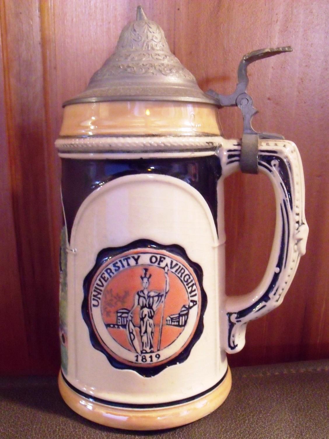 Uva Football Memorabilia Glasses Cups Amp Beer Steins Uva
